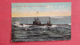 The Lake  Lake Submarine Boat Co  Bridgeport Conn Ref-2615 - Cartoline