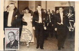 Président René COTY - Premier Jour     (98037) - 1960-69