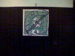 Austria, Scott #P25, Used (o), 1919, Newspaper Stamp, 4h Mercury, Green - 1945-.... 2nd Republic