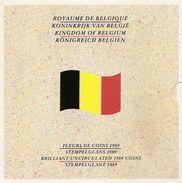 FDC Setje  1989  Frans + Vlaams - 1951-1993: Baudouin I