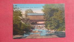 Randolph  Subway Bridge Vermont Ref-2615 - United States