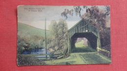 So. Royalton   Covered BridgeVermont Ref-2615 - United States