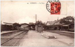 94 CORBEIL - La Gare   (Recto/Verso) - Corbeil Essonnes