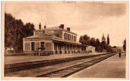 14 CONDE-sur-NOIREAU - La Gare  (Recto/Verso) - France