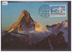 CARTE MAXIMUM PRIVEE, PAS OFFICIELLE DE LA POSTE - No Zumstein F49 - TB - Maximum Cards