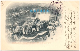 71 LE CREUSOT - Manifestations Socialistes Du 14 Juillet 1899 Au Creusot (Recto/Verso) - Le Creusot