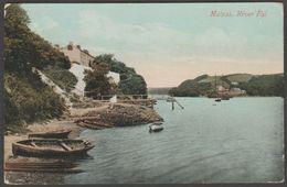 River Fal, Malpas, Cornwall, 1918 - Valentine Postcard - Other