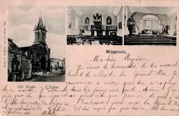 CPA L' église De Moyenvic Code Postal 57630 France - Frankreich