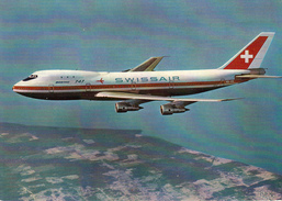 BOEING 747B - SWISSAIR - 1946-....: Moderne