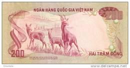VIETNAM SOUTH P. 32a 200 D 1972 AUNC - Vietnam