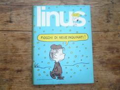 ANC. REVUE / ITALIEN / FUMETTI / LINUS  N° 1  / ANNO  9  /   GENNAIO  1973 - Boeken, Tijdschriften, Stripverhalen
