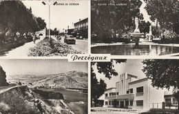 ALGERIE - Perrégaux. Souvenir. Multivue Noir Et Blanc Photo Véritable. Voyagée F.M. 1959. CAP N° 1522 - Algerije