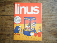 ANC. REVUE / ITALIEN / FUMETTI / LINUS  N° 10  / ANNO  11  /   OTTOBRE   1975 - Livres, BD, Revues