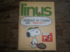 ANC. REVUE / ITALIEN / FUMETTI / LINUS  N° 7  / ANNO  10  /   LUGLIO   1973 - Livres, BD, Revues