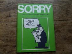 ANC. REVUE / ITALIEN / FUMETTI /  SORRY  N° 2  / ANNO  1° /    OTTOBRE    1972 - Livres, BD, Revues