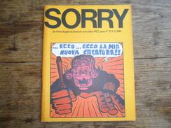 ANC. REVUE / ITALIEN / FUMETTI /  SORRY  N° 3  / ANNO  1° /    NOVEMBRE    1972 - Livres, BD, Revues