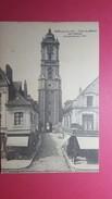 62 PAS DE CALAIS, AIRE SUR LA LYS, Tour Du Beffroi, Animée, Commerces, 1911, (A. Lequien) - Aire Sur La Lys
