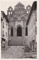 France Le Puy Basilique de Notre-Dame-du-Puy La Facade
