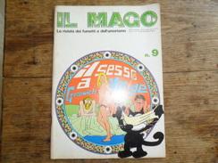 ANC. REVUE / ITALIEN / FUMETTI /  IL MAGO   N° 9  / ANNO  1° /    DICEMBRE   1972 /  FORMAT A3 - Livres, BD, Revues