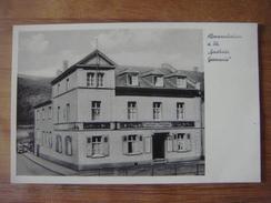 ALLEMAGNE - DEUTSCHLAND - GERMANY - Hesse - ASSMANNSHAUSEN ( Ruedesheim Am Rhein ) Gasthaus Germania Bes. Kesseler Josef - Ruedesheim A. Rh.