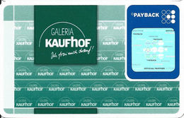 Payback / Galeria Kaufhof Customer Loyalty Card - Other Collections