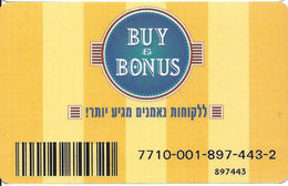 Buy & Bonus Customer Loyalty Card - Other Collections