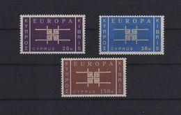 EUROPA CEPT CIPRO 1963 GOMMA INTEGRA MNH ** - Ungebraucht