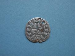 Denier Ou Centulle Du Béarn. - 476-1789 Period: Feudal