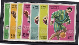 1964 Olympic Games Michel 31 - 39MNH Very Fine (b37) - Bhutan