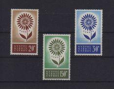 EUROPA CEPT CIPRO 1964 GOMMA INTEGRA MNH ** - Cipro (Repubblica)