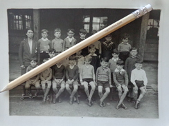 33 BORDEAUX ECOLE SAINT JOSEPH DE LA BASTIDE 1931 / 1932  PHOTO DE CLASSE  ELEVES IDENTIFIES AU DOS - Orte