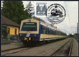 ÖSTERREICH 1987 - 150 Jahre Eisenbahn In Österreich - Sonderstempel - Trenes