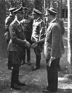Militaria WW2   - Himmler Et Hitler - 1939-45