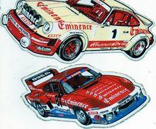 2 Autocollants Porsche Almeras. Eminence. - Adesivi
