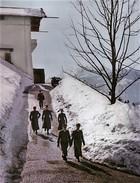 Militaria WW2  - Hitler Et Himmler En Promenade Au Berghof - 1939-45