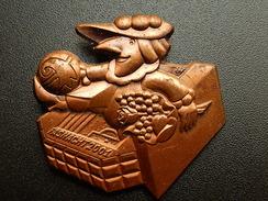 Broche -  CARNAVAL DE BALE  Suisse - FASNACHT 2001  - Cuivre - Jetons & Médailles