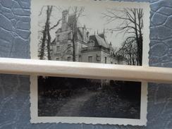 44 CHEMERE PHOTO LOT DE 2 CHATEAU DE NOIRBREUIL VERS 1930 - Places