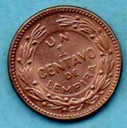 C4/  HONDURAS  1 Centavo  1957  KM#77.2 - Honduras