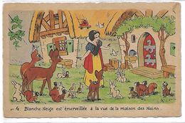 WALT DISNEY - Blanche Neige Et Les 7 Nains - N° 4 - Disney