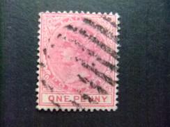 LAGOS 1885 - 86 Reine VICTORIA Yvert N 19 FU - Gran Bretaña (antiguas Colonias Y Protectorados)