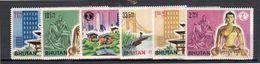 1964 World Exhibition New York Michel 58-63 MNH Complete Set (B61) - Bhutan