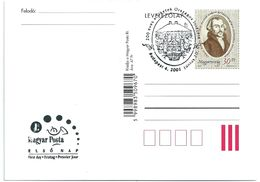 5276 Hungary FDC With SPM Postcard Education Hearing Impairment School Personality - Cultures