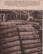 Deutsche Wehrmacht - Granatenlagen - Propaganda - 2. WK (Zeitungsausschnitt) (29383) - Deutsch