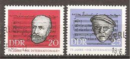 DDR 1963 // Mi. 966/967 O (028..746) - Gebraucht