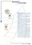 """(Prix à La Poste = 5 €) Document Philatélique Officiel 1er Jour De 2012 """" CONSEIL DE L'EUROPE 2012 """" N° YT SERV 153 - 2010-...."""