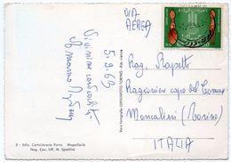 SOMALIA - MOGADISCIO LA DIGA FORANEA / THEMATIC STAMP-FREEDOM FROM HUNGER - 1963 - Somalia