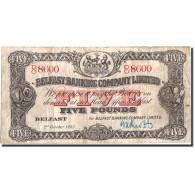Northern Ireland, 5 Pounds, 1942, 1942-10-02, KM:127b, TB+ - Ireland