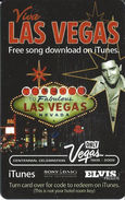 Viva Las Vegas ITunes Free Song Download Card - Other