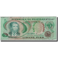 Philippines, 5 Piso, KM:160a, B - Philippines