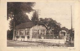 TRAPPES RESTAURANT DE LA FOURCHE MAISON LECANNELIER 78 - Trappes